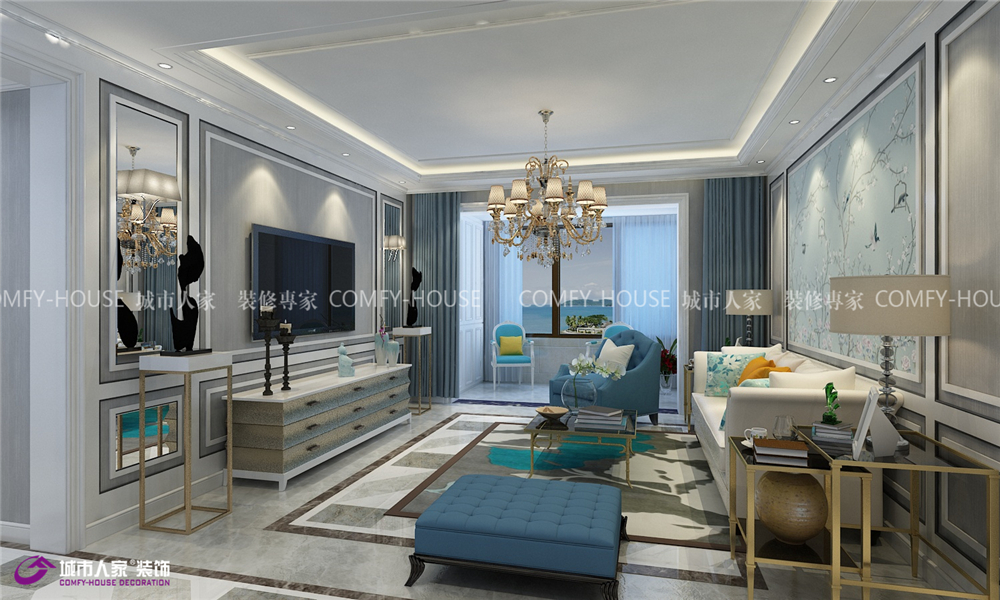 凤凰国际 装修设计 客厅图片来自济南城市人家装修公司-在凤凰国际装修|凤凰国际效果图的分享