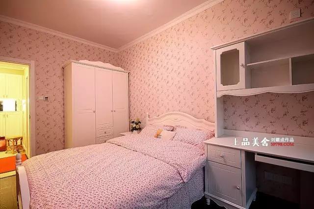 欧式 三居 小资 80后 收纳 卧室图片来自刘耀成在长沙博林金谷婚房设计的分享