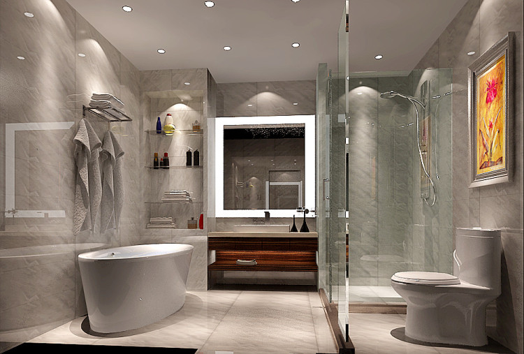 中式 高度国际 别墅装修 预约有礼 卫生间图片来自重庆高度国际装饰工程有限公司在龙湖香樟林别墅270平新中式公寓的分享