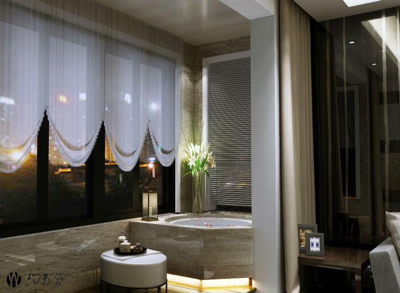 客厅图片来自石家庄大业美家装饰在众美绿都90平—后现代风格的分享