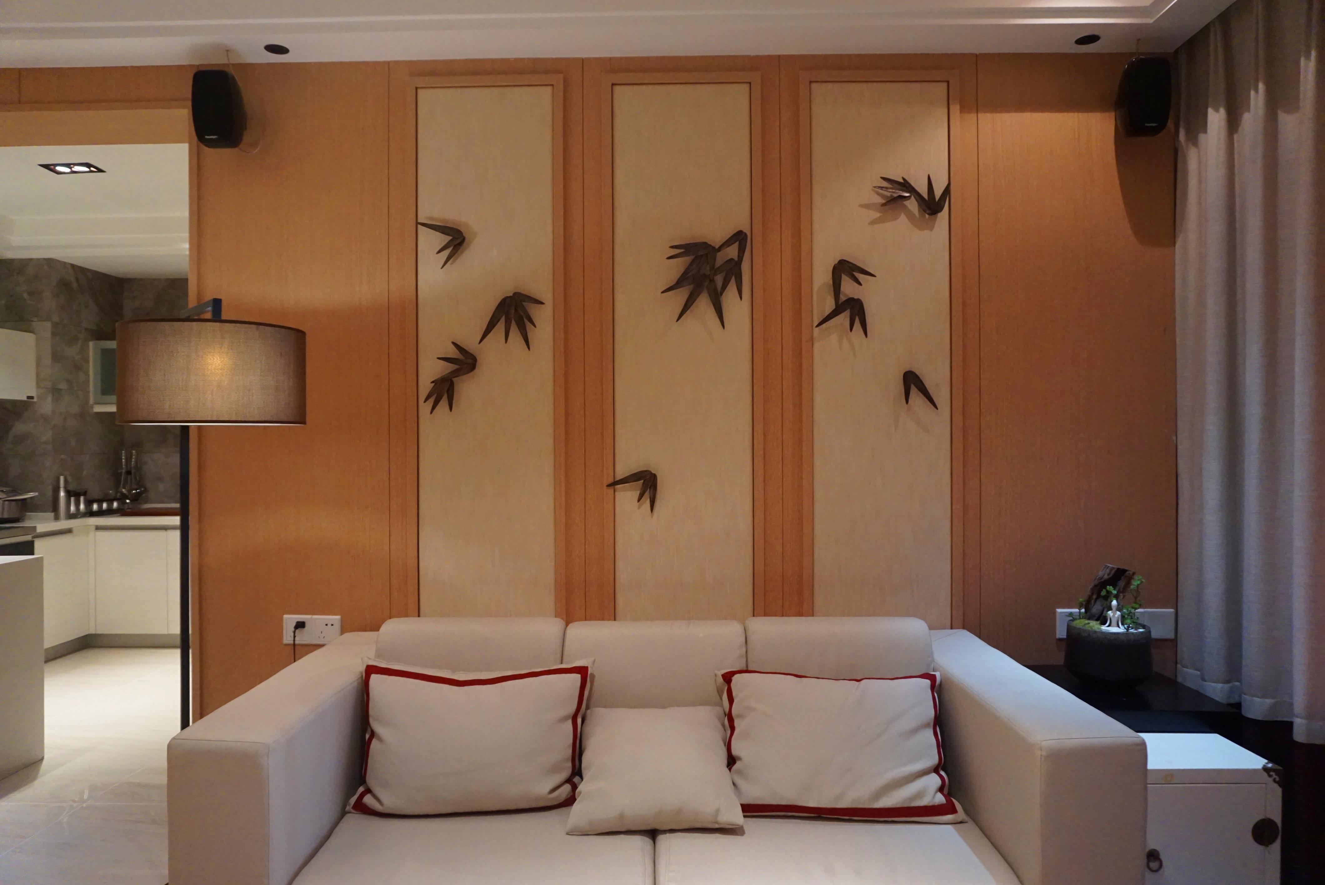 简约 二居 收纳 80后 小资 天汇设计 新中式 禅意中式 客厅图片来自游小华在《朴居》的分享