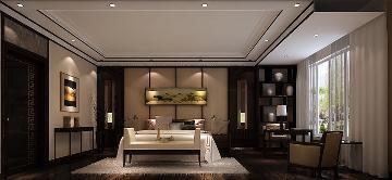 龙湖香樟林别墅270平新中式公寓