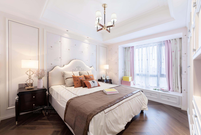 美式、法式 现代美式 简约美式 天汇设计 游小华 儿童房图片来自游小华在法式轻奢《White Rose》的分享