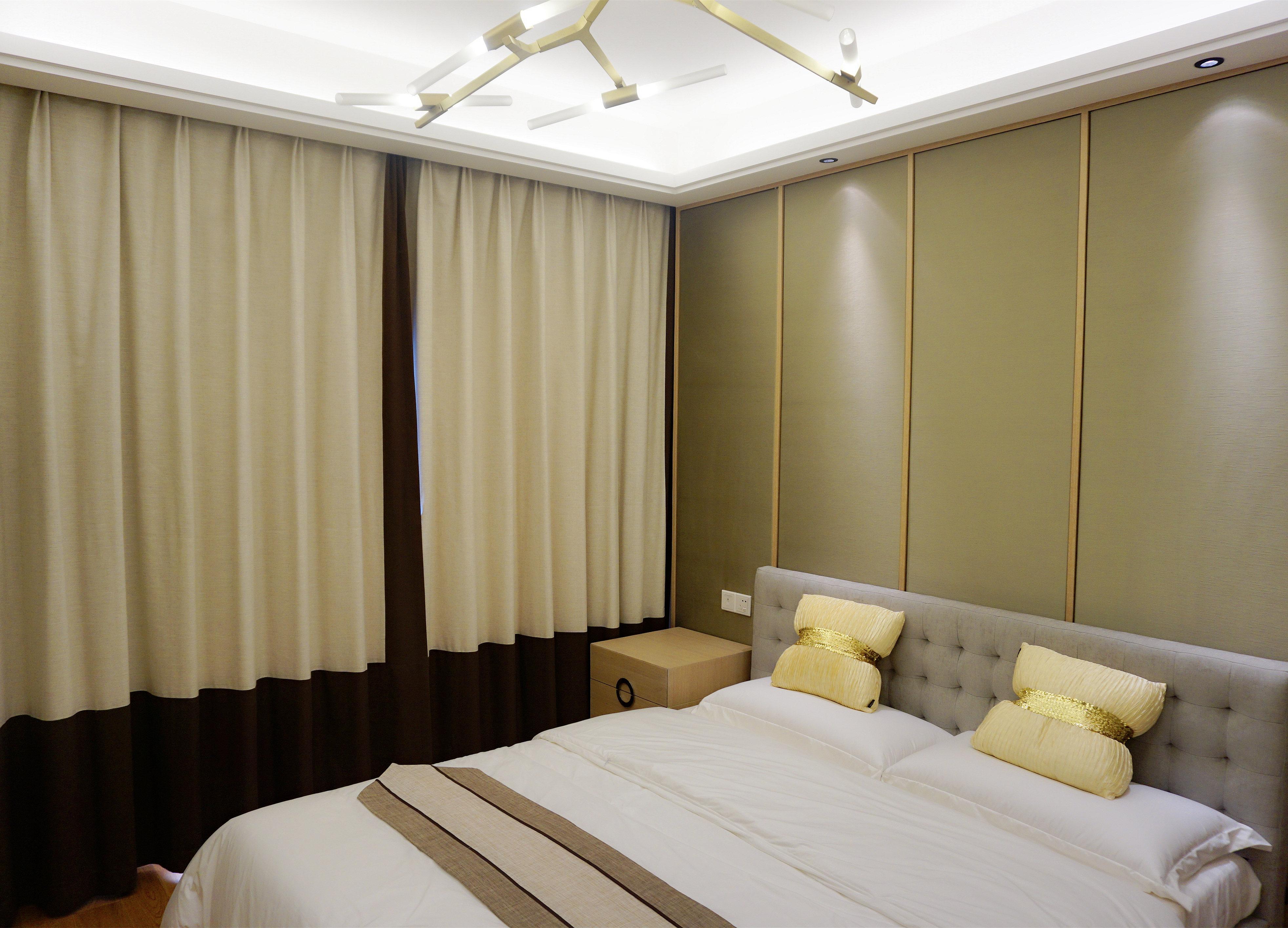 简约 二居 收纳 80后 小资 天汇设计 新中式 禅意中式 卧室图片来自游小华在《朴居》的分享