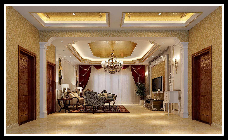 客厅 客厅图片来自石家庄大业美家装饰在藁城自建别墅—豪华欧式风格的分享
