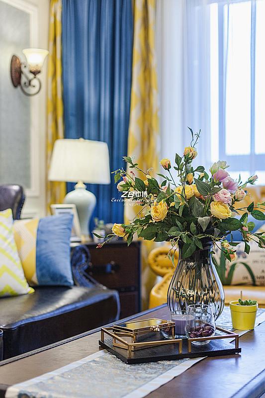 白领 混搭 三居 收纳 80后 小资 文艺青年 舒适 温馨 客厅图片来自中博装饰在吉祥半岛138方美式混搭舒适居家的分享