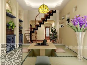 地中海 楼梯图片来自沈阳东易日盛在万科城150平地中海式风格案例的分享