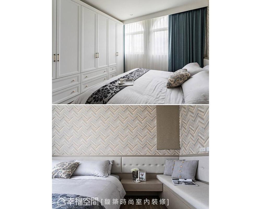 二居 美式 小户型 卧室图片来自幸福空间在轻美式乡村 92平梦幻童话小屋的分享