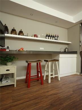 美式 二居 白领 80后 小资 大户型 三居 厨房图片来自高度国际姚吉智在104平米美式复古之情溢于言表的分享