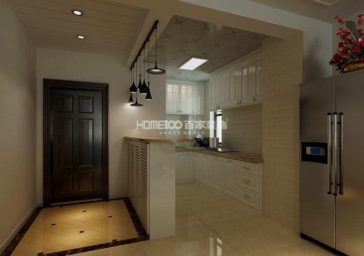 二居 格林玫瑰湾 现代风格 厨房图片来自百家设计小刘在格林玫瑰湾91平现代风格的分享