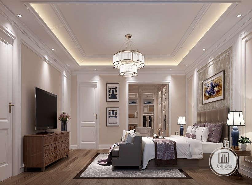 简约 欧式 田园 混搭 别墅 旧房改造 三居 二居 小资图片来自Joy-_8309在大业美家美式风格设计案例效果图的分享