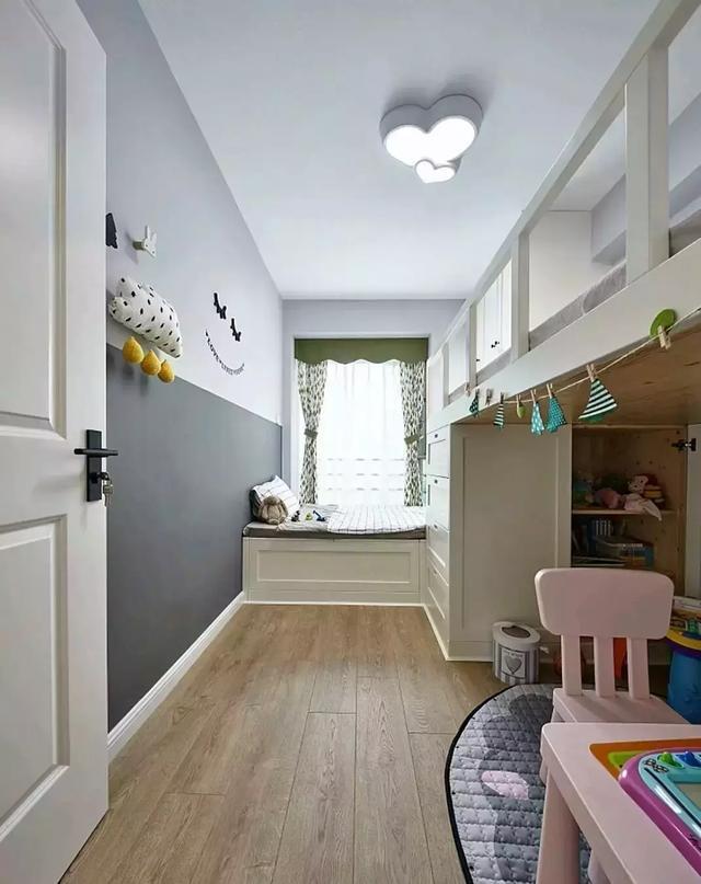 兰州实创装 儿童房图片来自家居装饰-赫拉在兰州实创装饰中海130㎡大北欧风的分享