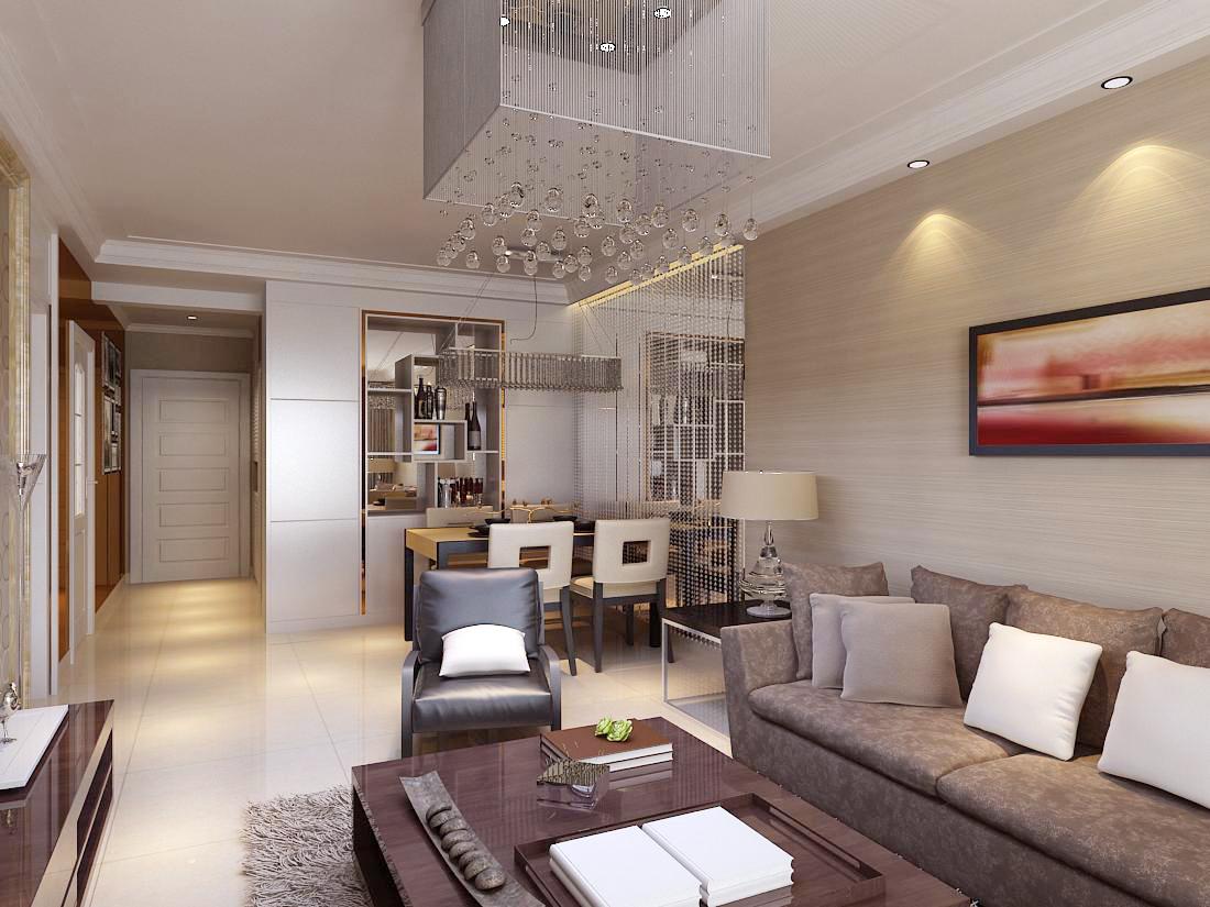 客厅图片来自石家庄大业美家装饰在国际城140—简欧风格的分享