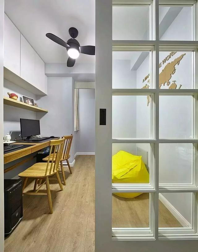 兰州实创装 书房图片来自家居装饰-赫拉在兰州实创装饰中海130㎡大北欧风的分享