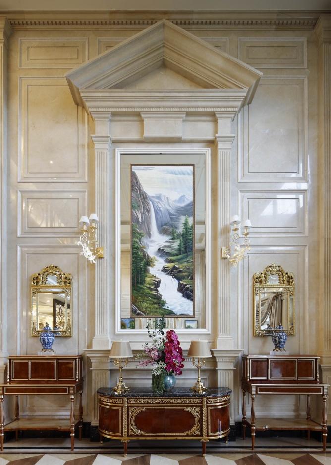 混搭 高度国际 别墅 融创白象街 别墅装修 其他图片来自重庆高度国际装饰工程有限公司在豪华装修时尚范十足的分享