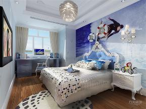 地中海 二居 收纳 小资 卧室图片来自阳光力天装饰在力天装饰-尚港华府-89.5㎡的分享