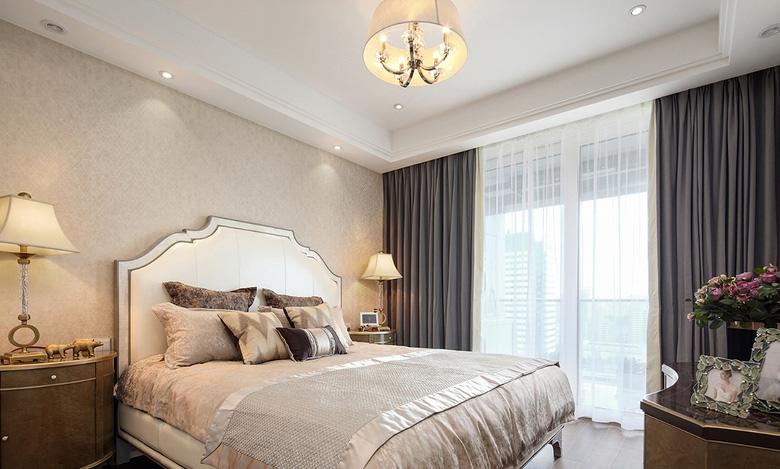卧室图片来自家装大管家在优雅时节 145平古典混搭时尚3居的分享
