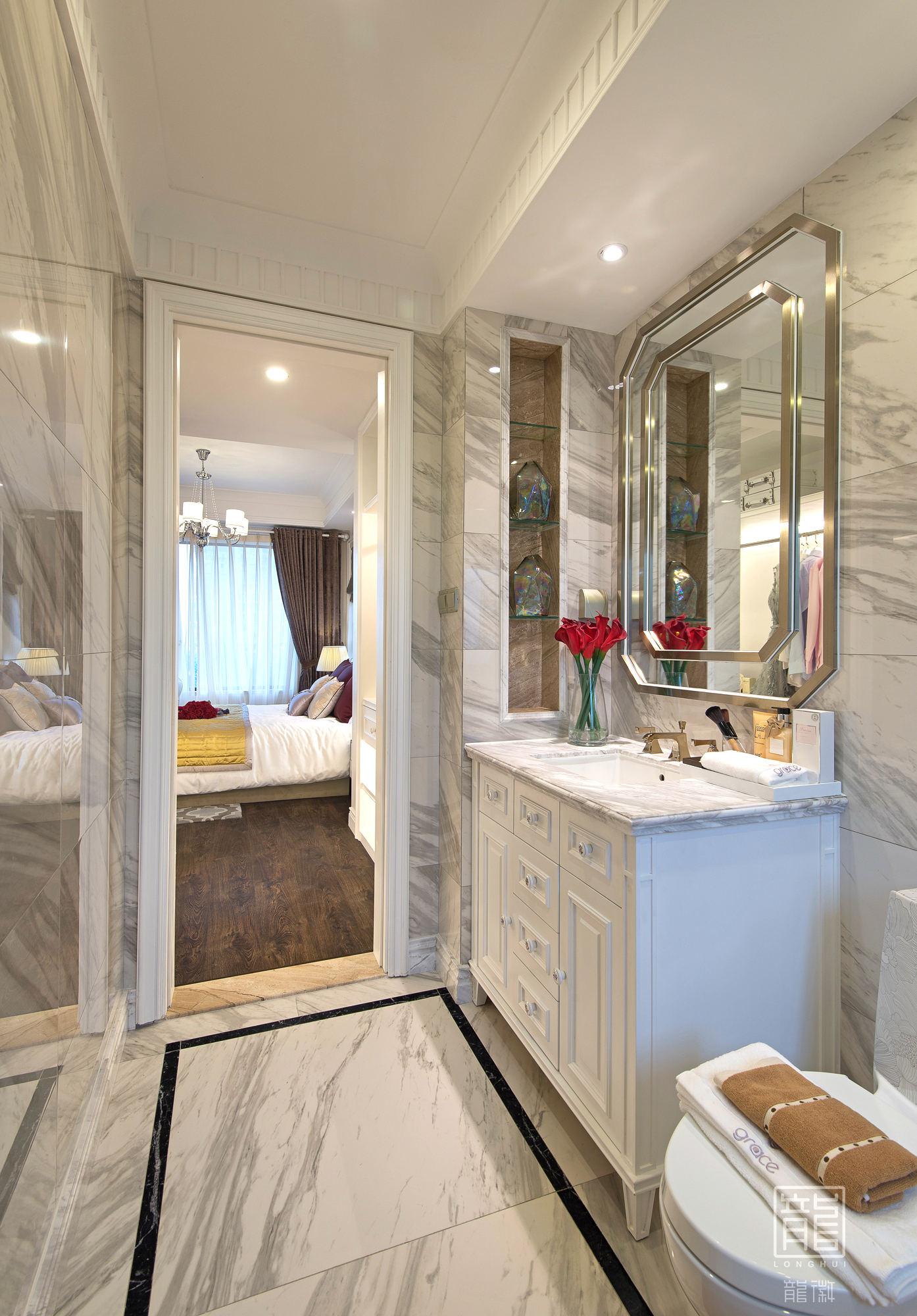 卫生间图片来自龙徽设计在风华内敛的摩登绅士的分享