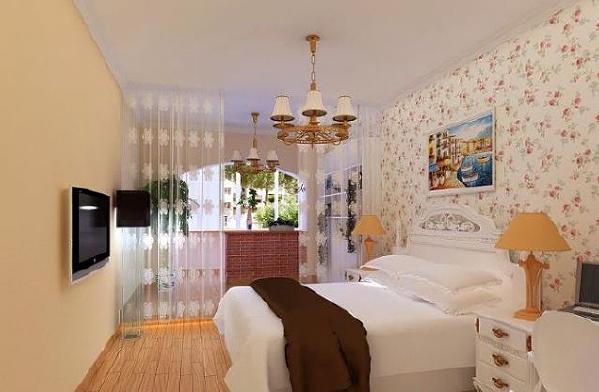 卧室用的墙布装饰