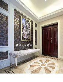 西市佳境四居室现代美式风格装修