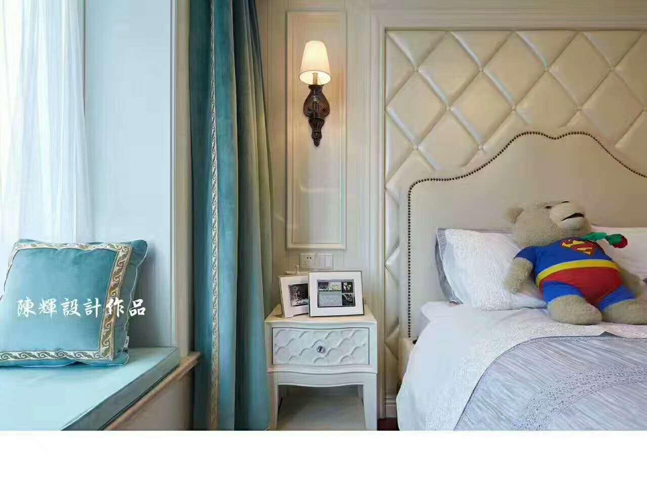 儿童房图片来自日升嬛嬛在西市佳境四居室现代美式风格装修的分享