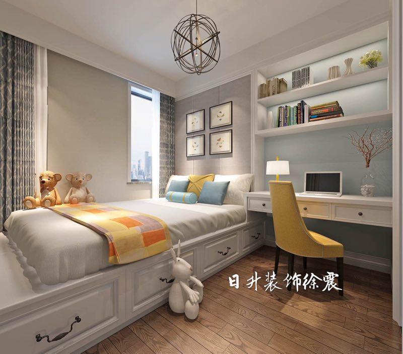 卧室图片来自日升嬛嬛在丹轩梓园两居室装修的分享