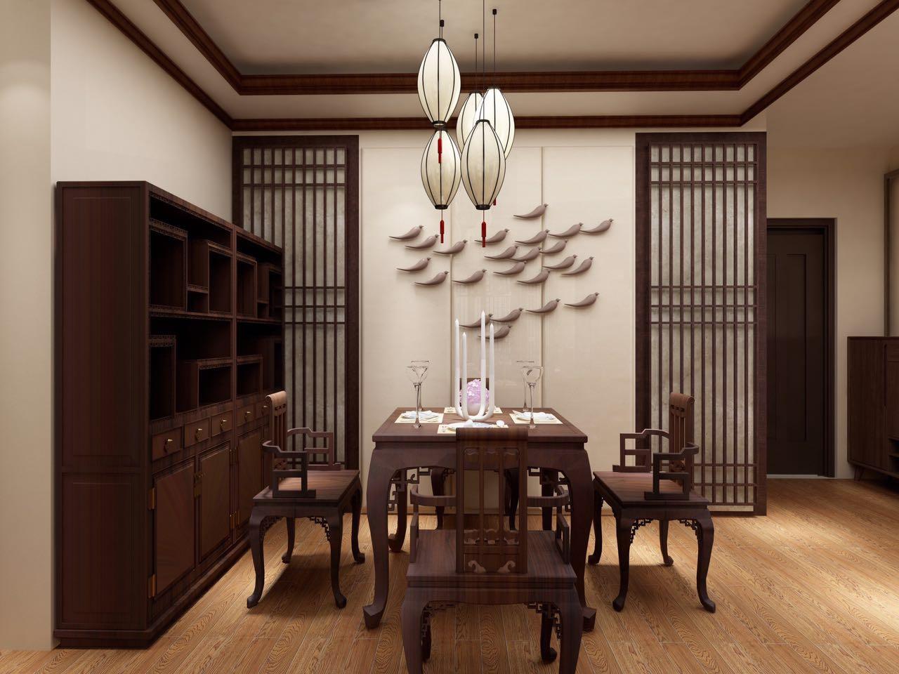 二居 小资 80后 旧房改造 收纳 餐厅图片来自北京今朝装饰-慧琳在格调小区 75㎡ 中式风格的分享