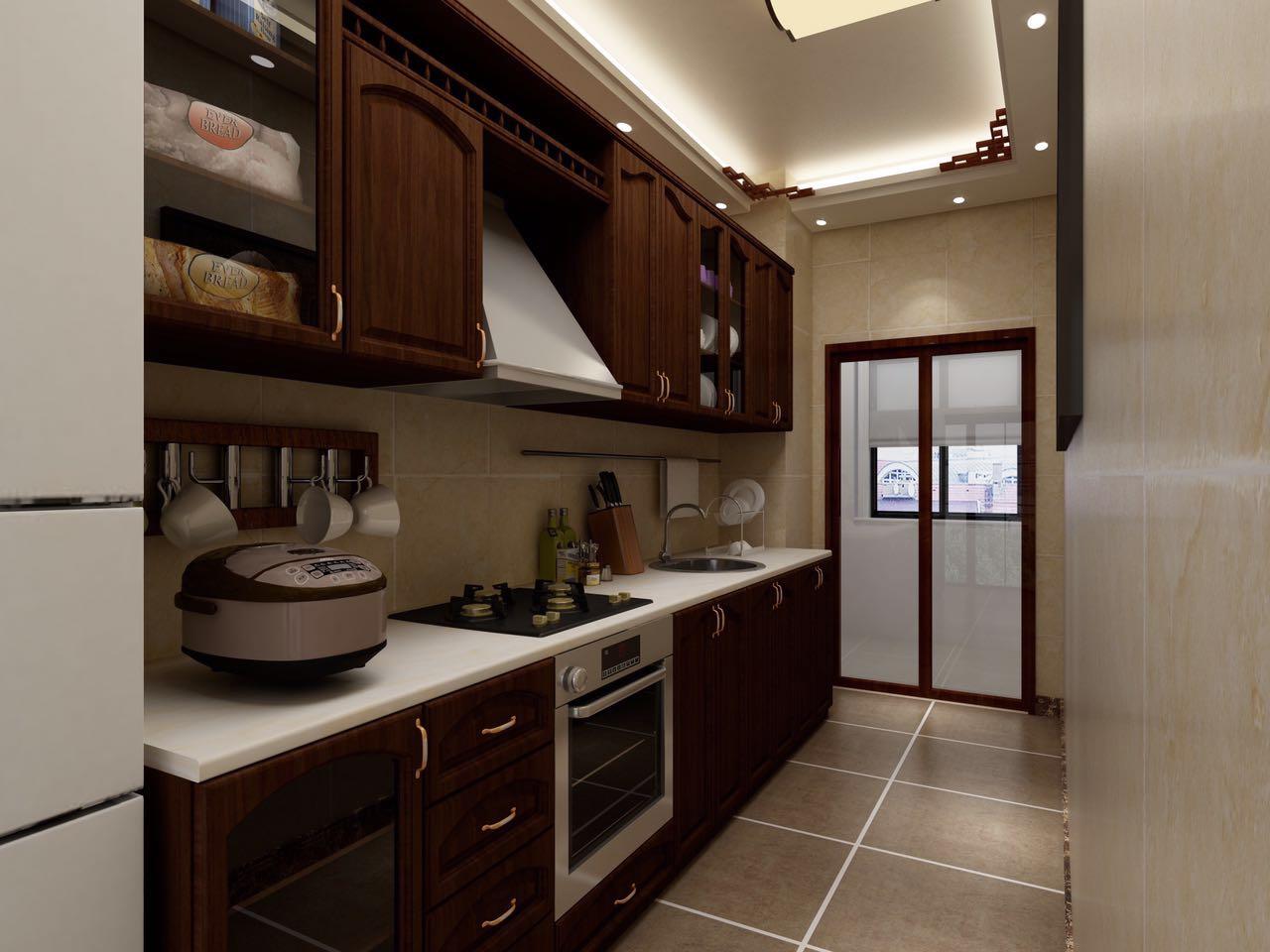 二居 小资 80后 旧房改造 收纳 厨房图片来自北京今朝装饰-慧琳在格调小区 75㎡ 中式风格的分享