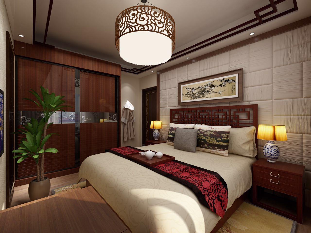 二居 小资 80后 旧房改造 收纳 卧室图片来自北京今朝装饰-慧琳在格调小区 75㎡ 中式风格的分享
