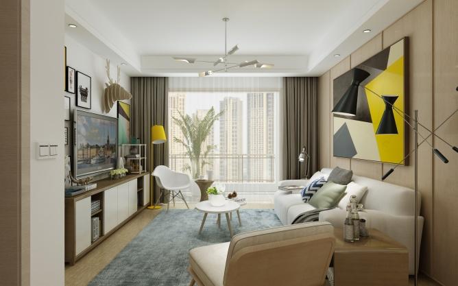 二居 80后 小资 旧房改造 收纳 白领 客厅图片来自北京今朝装饰-慧琳在罗马花园的分享