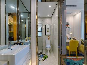 简约 现代 别墅 大户型 小资 80后 高帅富 卫生间图片来自高度国际姚吉智在230平米现代简约多彩素雅的生活的分享