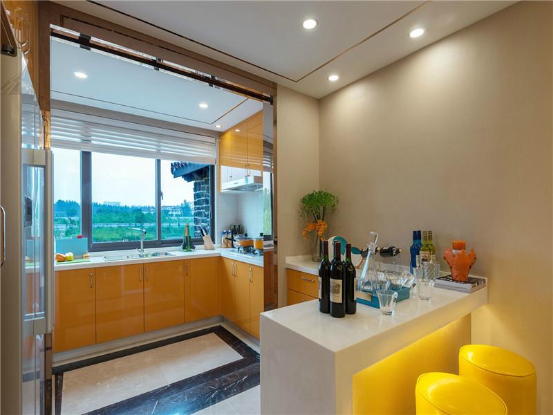 简约 现代 别墅 大户型 小资 80后 高帅富 厨房图片来自高度国际姚吉智在230平米现代简约多彩素雅的生活的分享