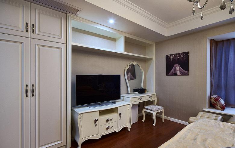 卧室图片来自家装大管家在放飞自我 170平欧式混搭时尚3居的分享