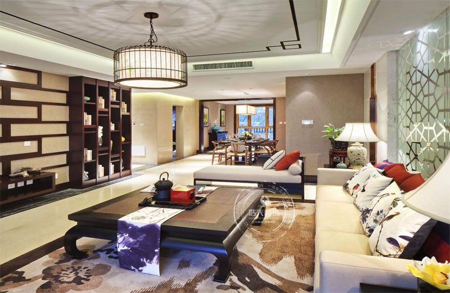 三居 客厅图片来自深圳浩天装饰在浩天装饰君汇新天-现代中式的分享