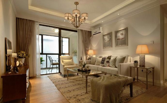 三居 混搭 田园 欧式 简约 卧室 餐厅 白领 收纳图片来自装饰公司18771098378在温馨美式三居室的分享