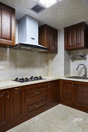 简约 混搭 三居 白领 收纳 小资 中式 厨房图片来自中博装饰在晨光国际160方跃层大宅中国味儿的分享