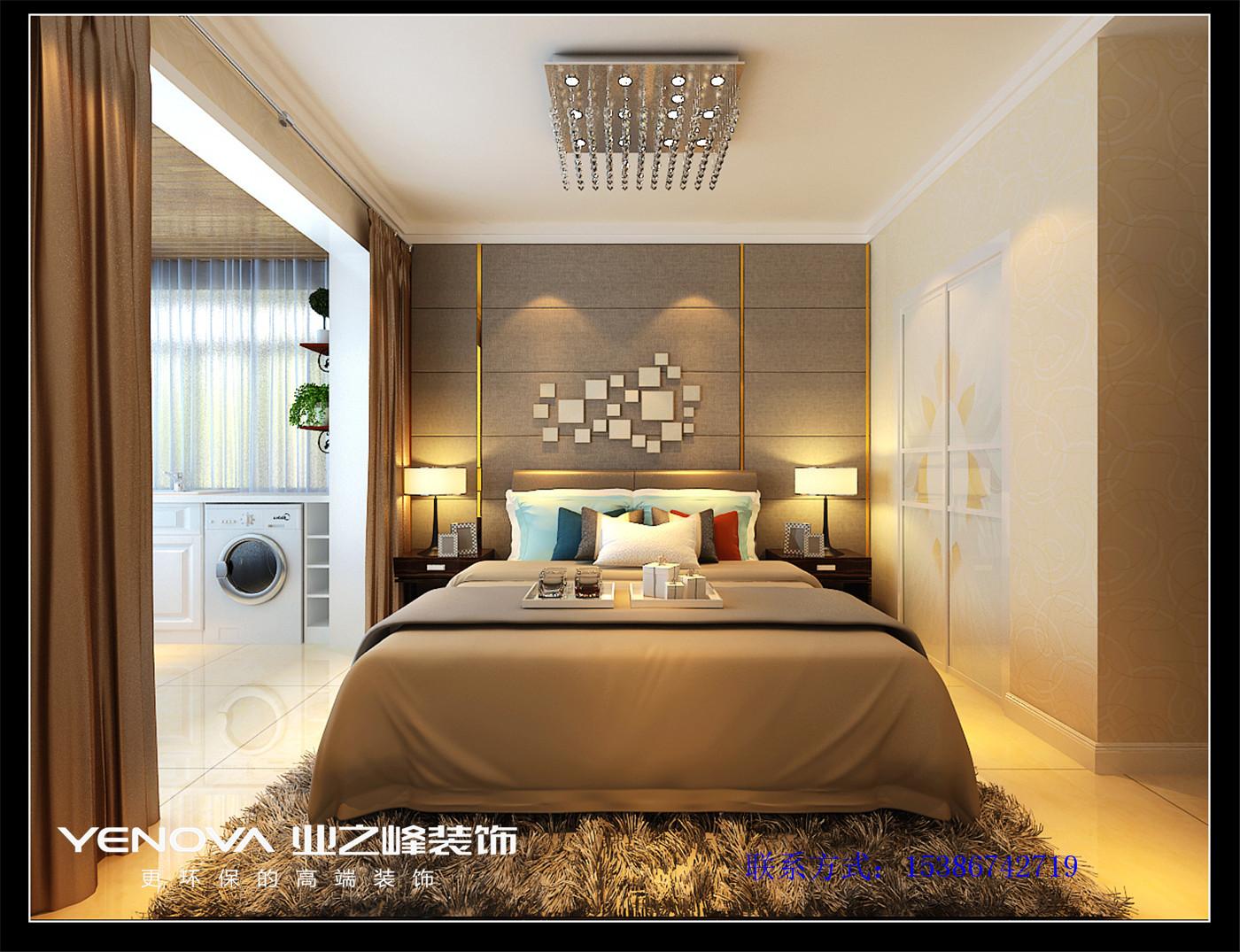太原业之峰 现代风格 环保 晨光小区 卧室图片来自太原业之峰诺华装饰杨丽茹在现代晨光的分享