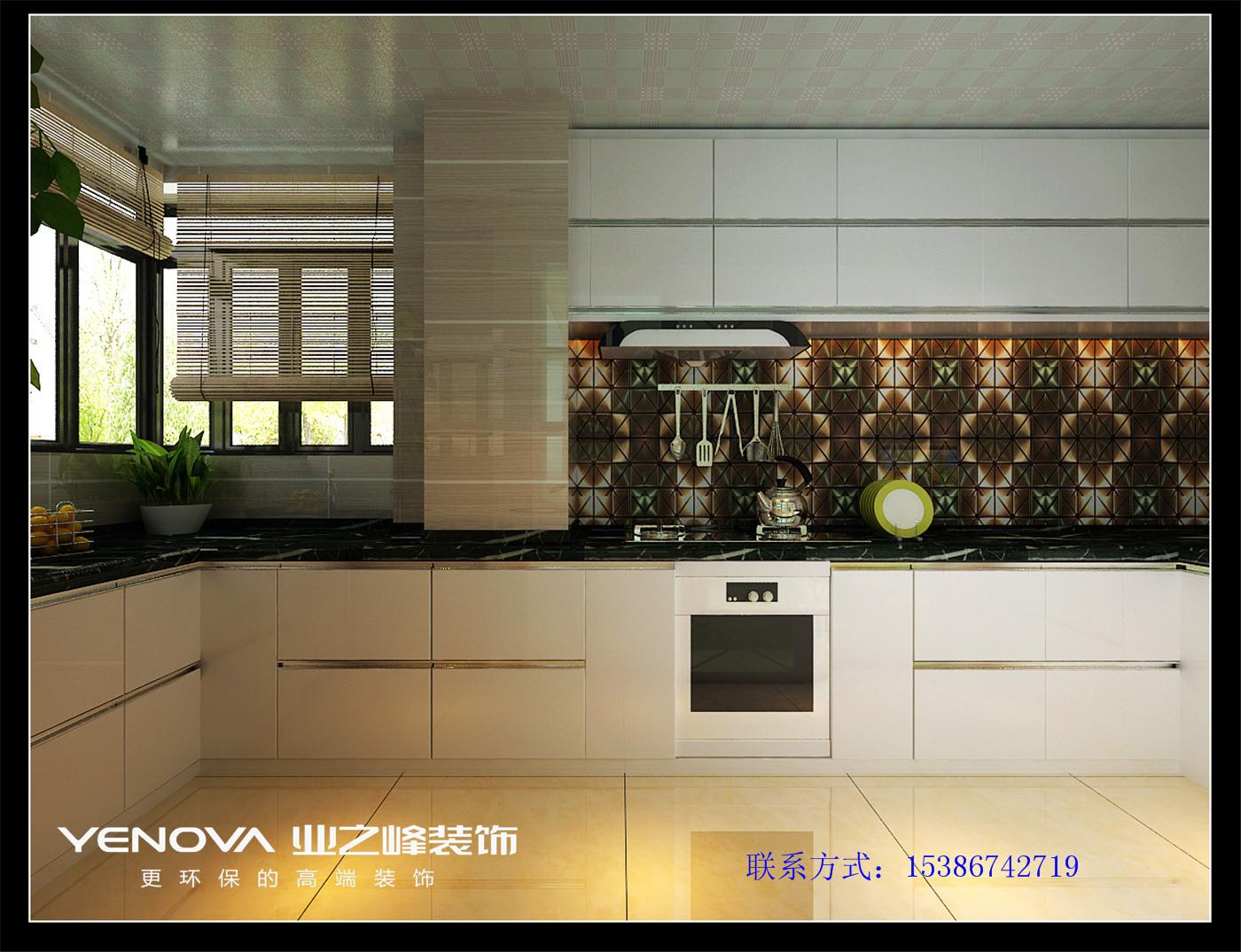 太原业之峰 现代风格 环保 晨光小区 厨房图片来自太原业之峰诺华装饰杨丽茹在现代晨光的分享