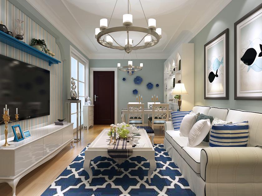 青岛 金玉良缘 二居 现代 小资 客厅图片来自快乐彩在金玉良缘78平小套二的现代装修的分享
