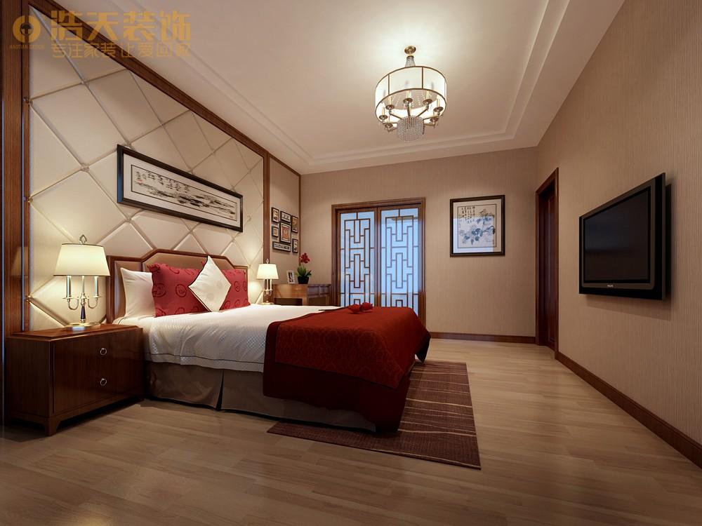 简约 卧室图片来自深圳浩天装饰在浩天装饰天御-现代中式的分享