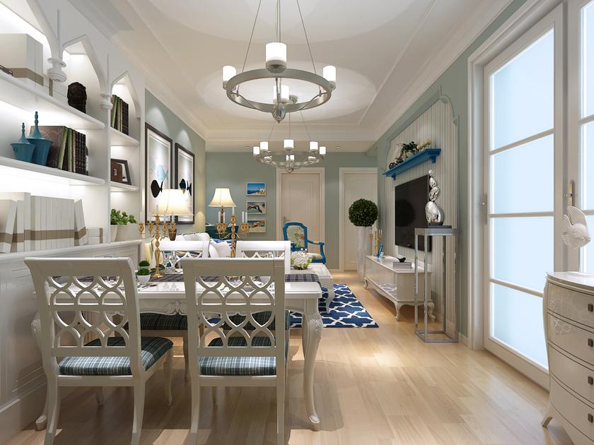 青岛 金玉良缘 二居 现代 小资 餐厅图片来自快乐彩在金玉良缘78平小套二的现代装修的分享