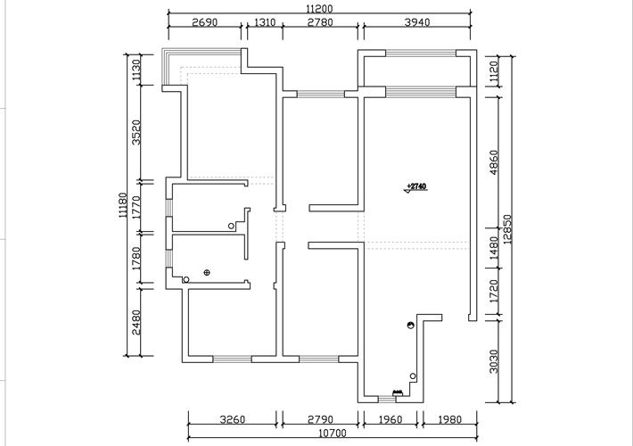 三居 广厦绿园 欧式风格 户型图图片来自百家设计小刘在广厦绿园140平欧式风格半包6.2万的分享