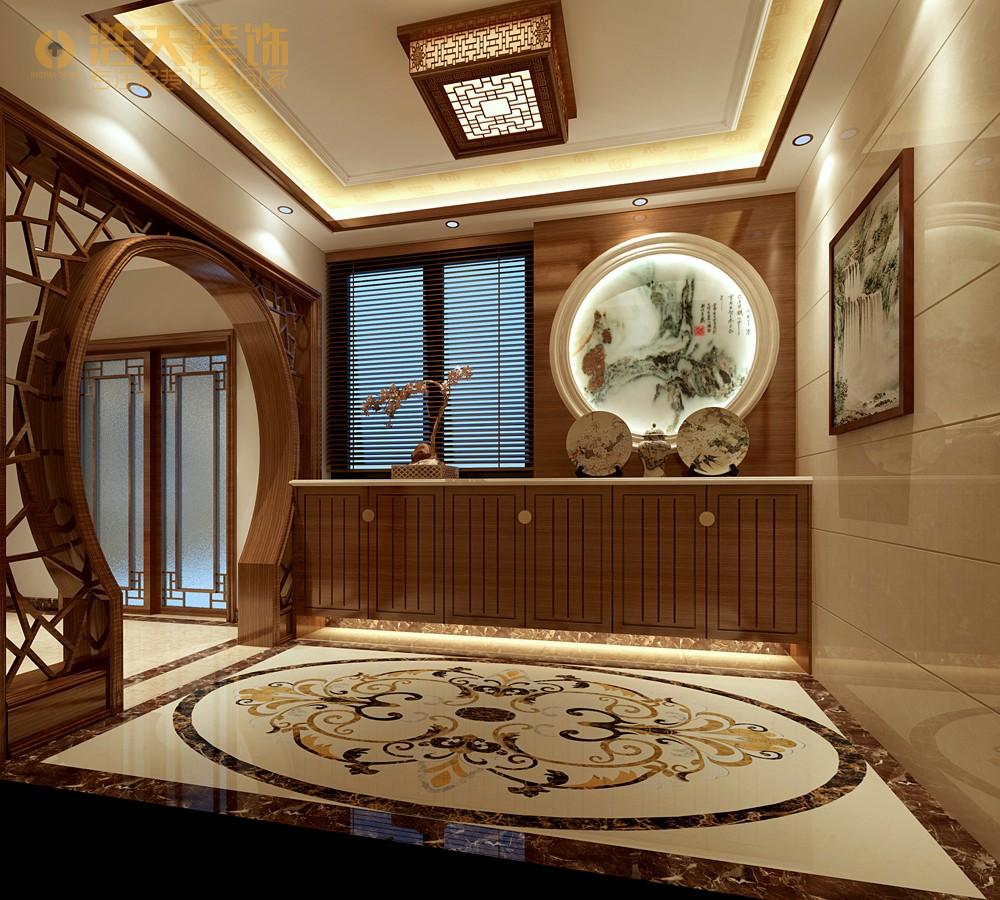 简约 玄关图片来自深圳浩天装饰在浩天装饰天御-现代中式的分享