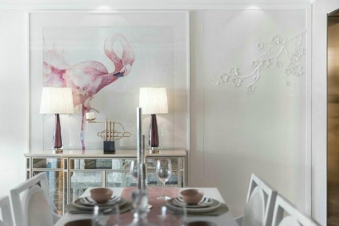 欧式 三居 餐厅图片来自装饰公司18771098378在欧式的分享