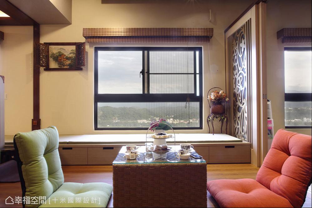 休闲 度假 南洋 客厅图片来自幸福空间在149平南洋情怀 都会里的度假天堂的分享