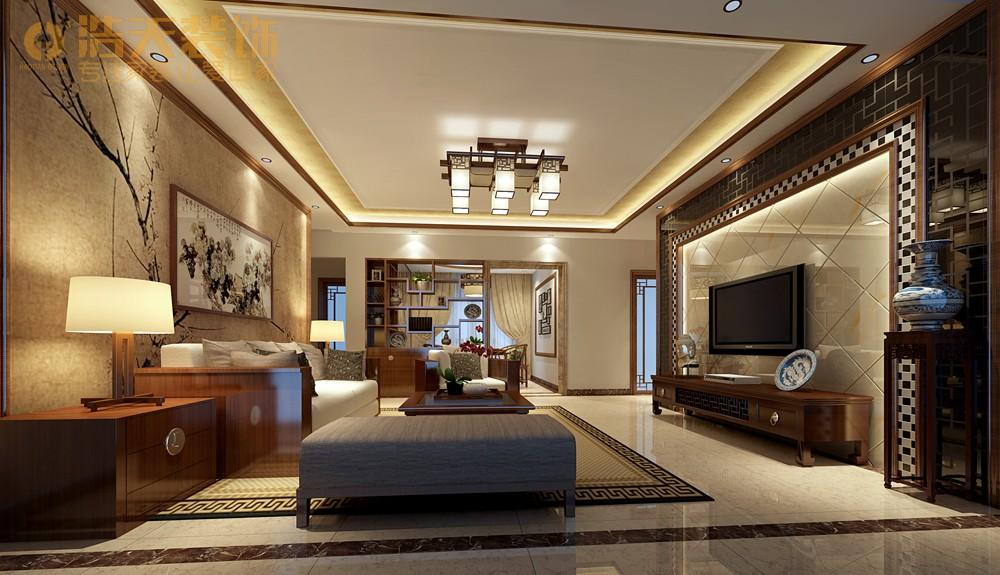 简约 客厅图片来自深圳浩天装饰在浩天装饰天御-现代中式的分享