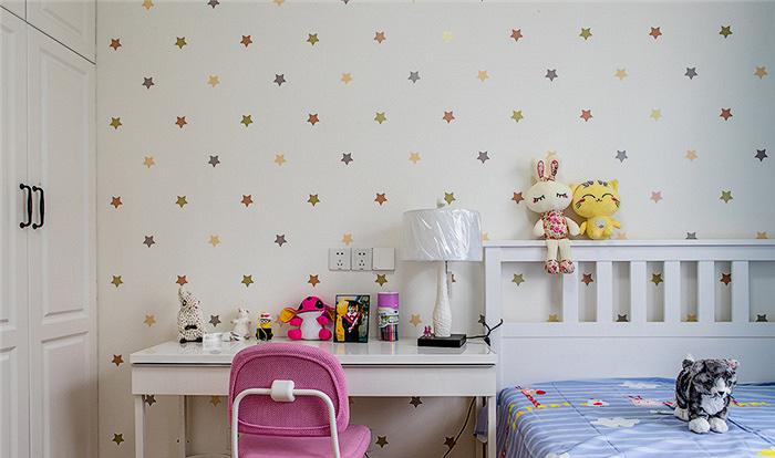 儿童房图片来自家装大管家在115平现代美式3居 生活因此更美的分享
