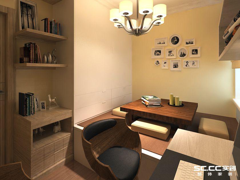 三居室 新城 香溢紫郡 实创 简约 卧室图片来自快乐彩在新城香溢紫郡125平四居室简约的分享
