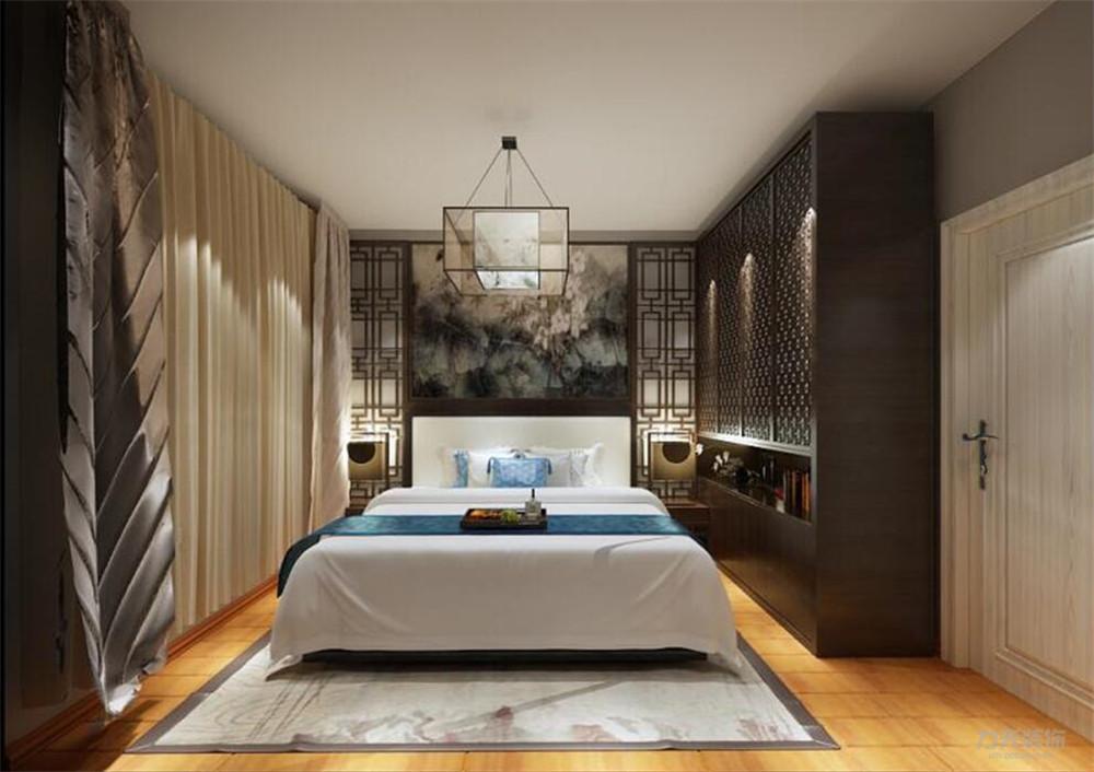 东南亚 二居 收纳 小资 卧室图片来自阳光力天装饰在力天装饰-融创天托-81㎡-东南亚的分享
