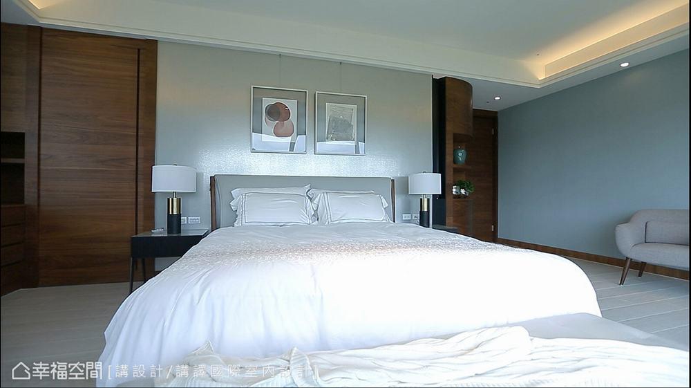 东方 四居 大户型 三代同堂 卧室图片来自幸福空间在479平新东方风三代同堂宅的分享